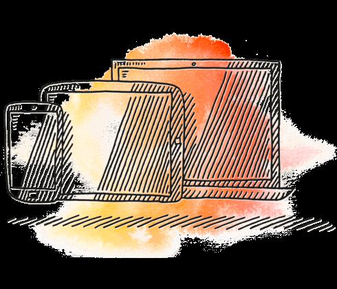 Illustration responsiv design